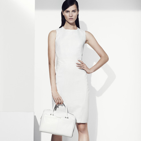 marks and spencer white dress - how to dress for work in hot weather - handbag.com