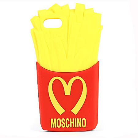 moschino mcdonals fries chips iphone phonce case - designer phone case trend - handbag.com