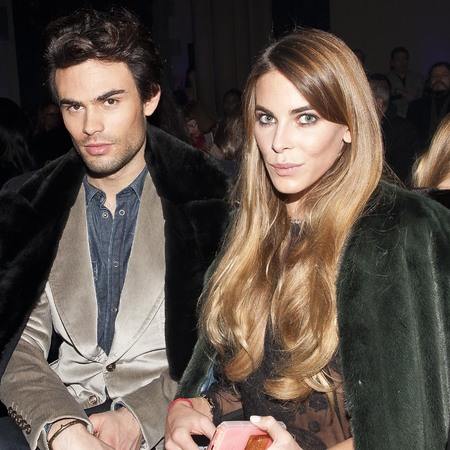 Victoria Baker Harber at London Fashion week - chelsea blowdry - Made in Chelsea - review - beauty bag - handbag.com