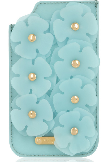 burberry flower iphone phonce case - designer phone case trend - handbag.com