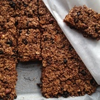 #1minutemeal: Quick granola bars recipe