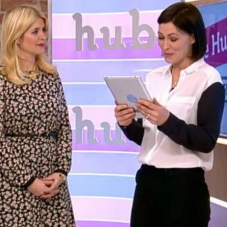 Emma Willis - this morning - screen shot - topshop shirt - buy it on your break - mothers day - handbag.com