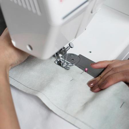 How to make a slouchy leather clutch bag - sew together- diy fashion fix - adorn - handbag.com