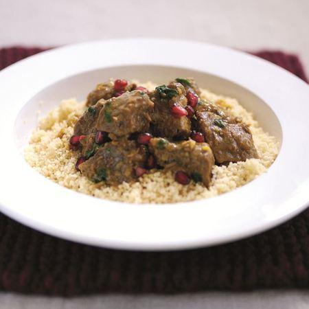 Celebrity chef Mark Sargeant recipe - lamb tagine with pomegrante seeds recipe - dinner recipes - speedy recipes - Easter lamb recipe - food - handbag.com