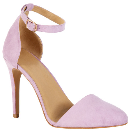 pastel purple lilac ankle strap sandals - primark - how to wear pastel trend - spring 2014 fashion trends - handbag.com