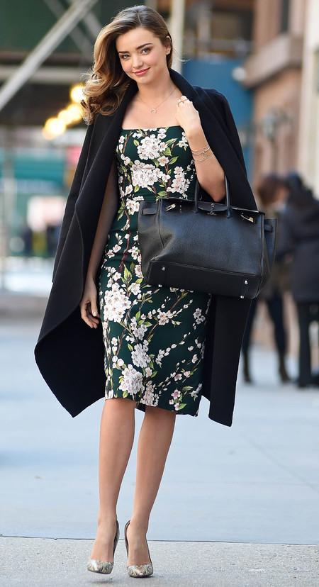 Miranda Kerr's model handbag style