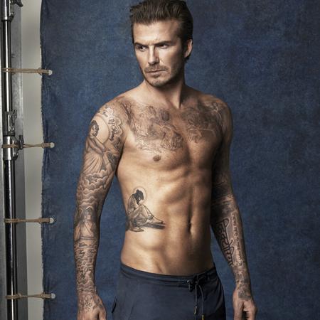 david beckham hm swimwear - boardshorts - beckham topless - handbag.com