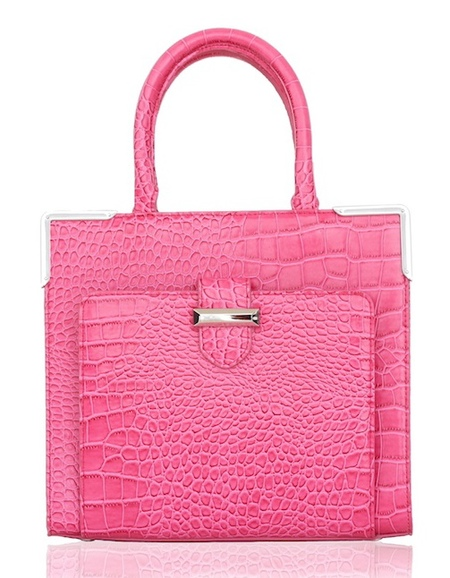 Snob Essentials - bag snob ss14 debut collection - pink handbag - shopping bag - handbag.com