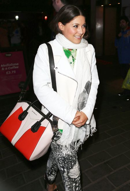 celebrities carrying Givenchy bags