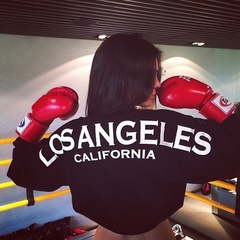 Kendall Jenner - boxing - celebrity workout - kardashian - handbag.com