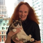 Grumpy cat goes on a jolly to Vogue