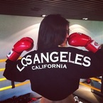Kourtney Kardashian joins the ladies who choose boxing