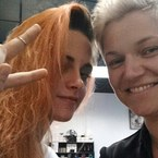 Kristen Stewart has new hair, and it's orange