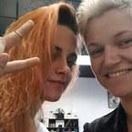 Kristen Stewart has new hair, and it's orange