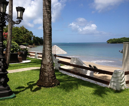 St Lucia Sandals Resort - Holiday ideas - Sunshine holidays - travel review - view - handbag.com