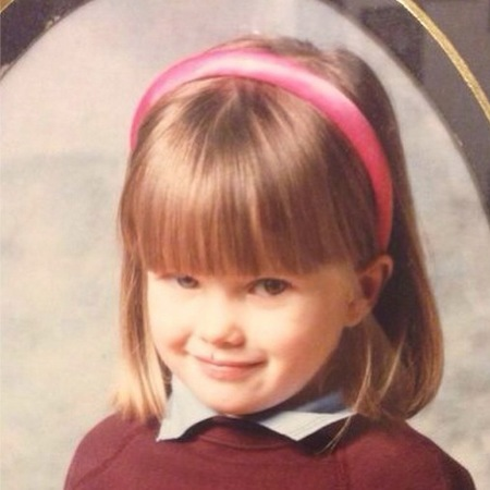 Helen Flanagan - throwback thursday - school girl - young photo - celebrities when children - handbag.com