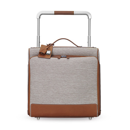 Hermes travel luggage - Hermes bags - designer suitcases - inside-  best designer luggage - travel bag - handbag.com