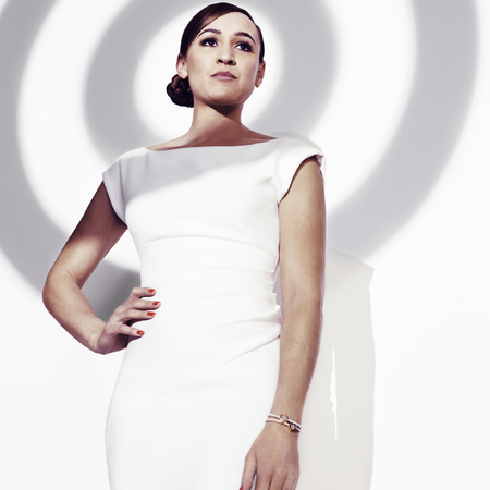 Jessica Ennis Hill fashion targets breast cancer campaign - how to raise money for cancer charity - fashion targets breast cancer 2014 - handbag.com