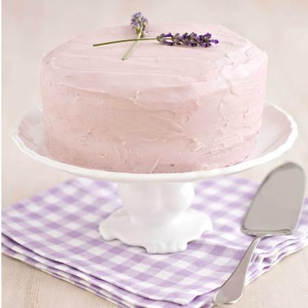 Blueberry and lavender sponge cake recipe - Spring cake recipe - cake recipe - baking ideas - food and drink recipes - handbag.com