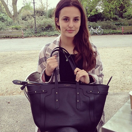lucy watson - what's in my handbag - aspinal marylebone tote - handbag.com