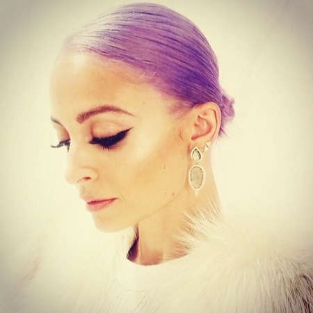 nicole richie purple hair - how to dye your hair a bright colour - crazy hair - celebrity hairstyles - handbag.com
