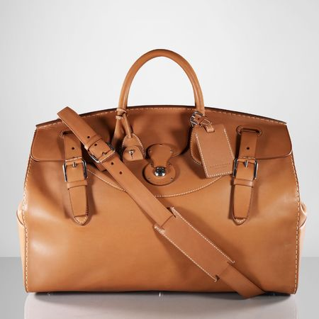 Ralph Lauren travel luggage - Ralph Lauren bags - designer suitcases - inside - best designer luggage - travel bag - handbag.com