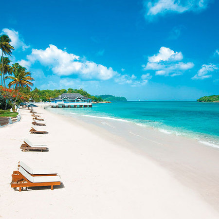St Lucia Sandals Resort - Holiday ideas - Sunshine holidays - travel review - beach resort - handbag.com