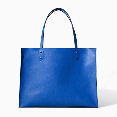 Zara shopper bag  - bags under £40 - shopping bag - handbag.com
