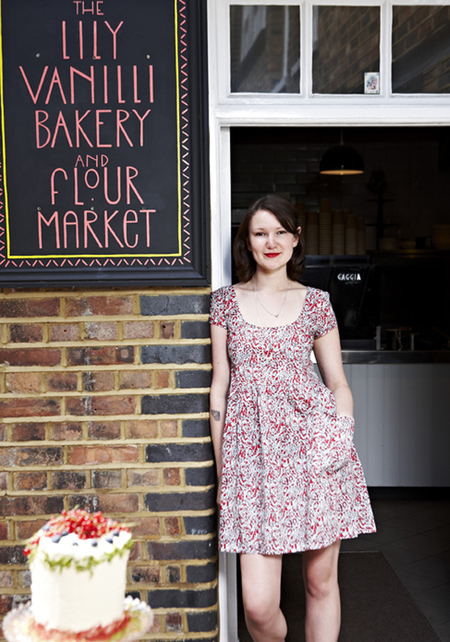 Lily Vanilli - lurpak cooks range - baking interview - day bag - handbag.com