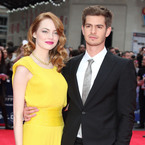 Is Andrew Garfield wearing Emma Stone's trousers?