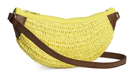 Fruit handbag feature - H&M banana bag - shopping bag - handbag