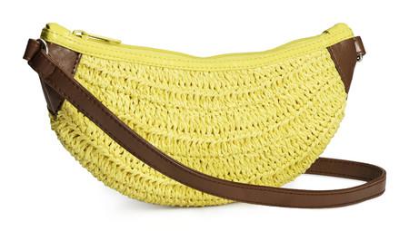 Fruit handbag feature - H&M banana bag - shopping bag - handbag