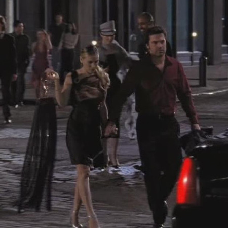 Sex and the City handbags: Fendi fringe clutch