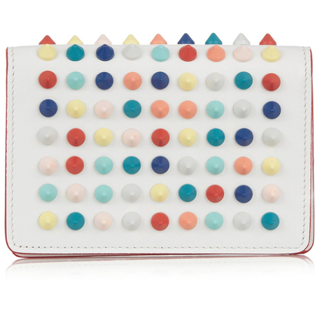 christian louboutin - studded card holder - travel accessories - handbag.com