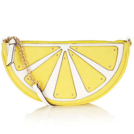 Fruit handbag feature - Accessorize lemon bag - shopping bag - handbag