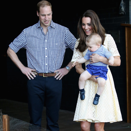Prince George does shorts and shoes