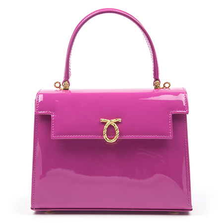 Launer Judi in pink - queen's new handbag - shopping bag - handbag