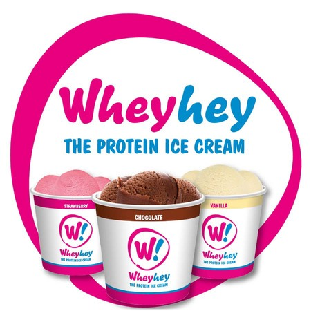 wheyhey - whey protein ice cream - protein drinks shakes that taste nice - handbag.com