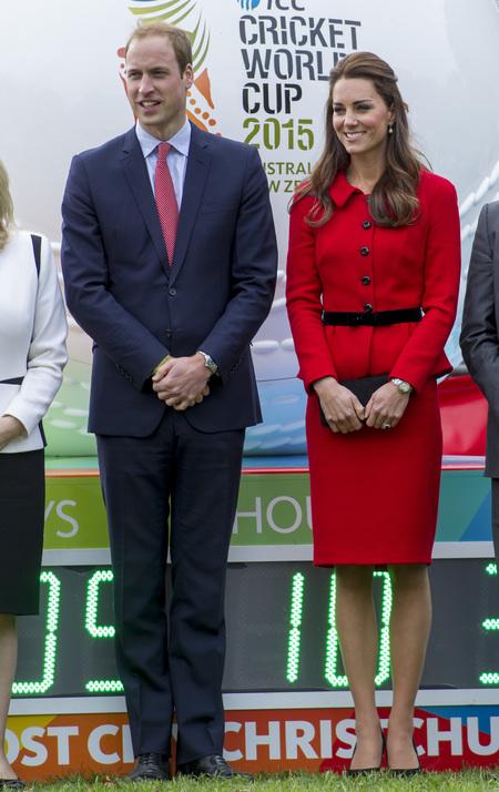 Red Luisa Spagnoli suit