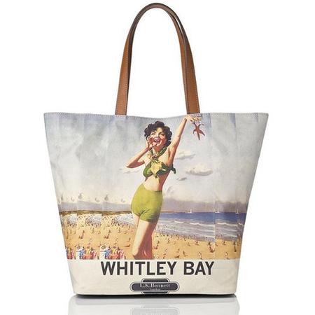 beach bag - lk bennett - Whitley bay Canvas Tote - summer holiday bag - handbag.com
