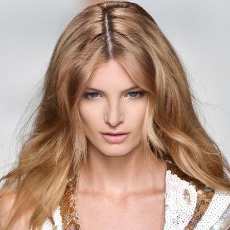 Blumarine fashion week ss14 - beach hair - festival beauty - tousled waves - long hair ideas - summer hairstyles - handbag.com