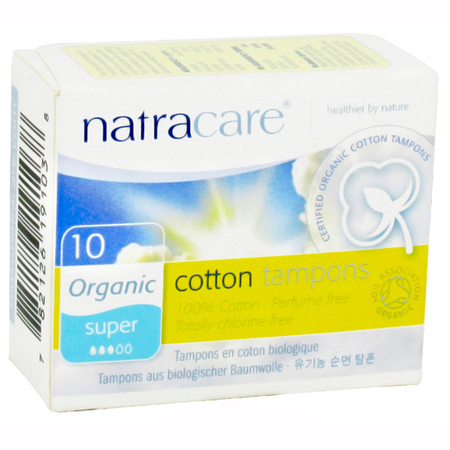 earth day - natural - organic - beauty products - organic cotton tampons - natracare copy - handbag.com
