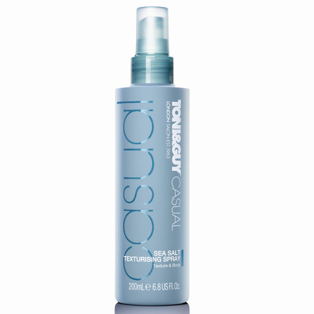 TONI&GUY Hair Meet Wardrobe Casual Sea Salt Texturising Spray - how to create tousled hair - beach waves - festival hair and beauty products - handbaghero - handbag.com