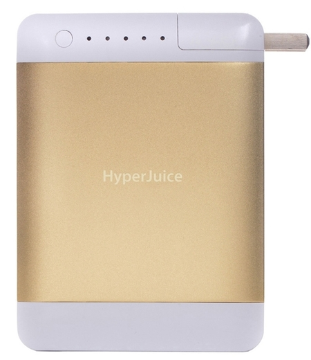 Hyper juice plug - 5 best multi charger gadgets for your handbag - compact charger for handbag - day bag - handbag.com