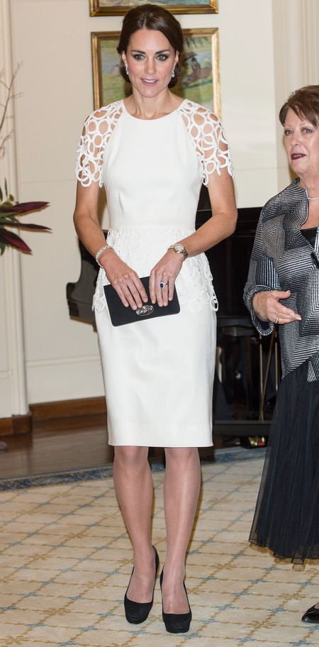 Kate Middleton's New Zealand and Australia Tour dresses