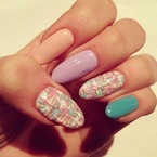 3 ways to wear pastel colour nails