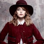 Emma Stone thinks hats are the new bags
