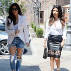 Would you wear Kim K's ripped jeans?