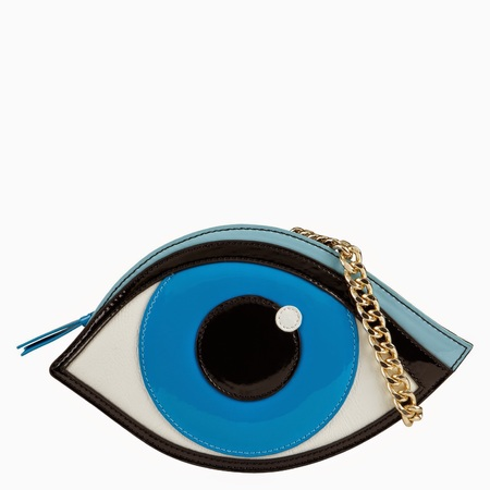 Aldo hakes eye bag - handbags that look like art - shopping bag - handbag