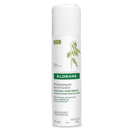 Klorane Oat Milk Dry Shampoo for Frequent Use